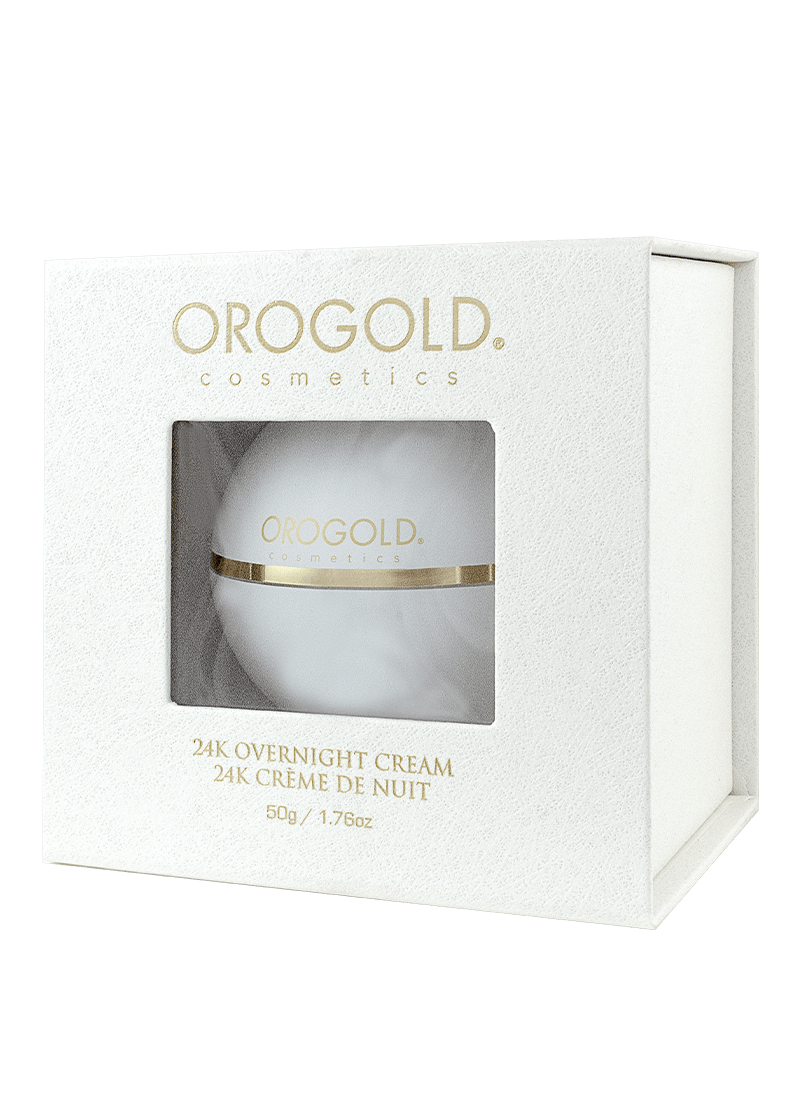 24K Overnight Cream Box