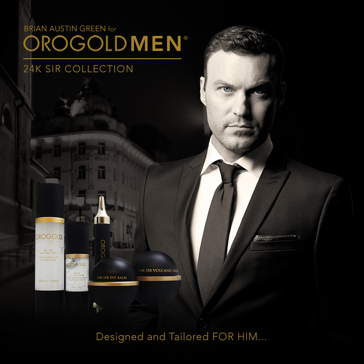 Brian Austin Green for Orogold