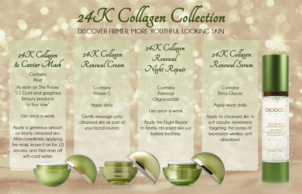 24K Collagen Collection