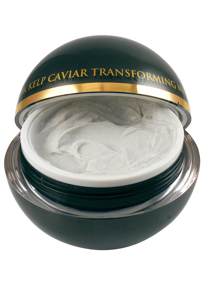Caviar Transforming Mask with an open lid