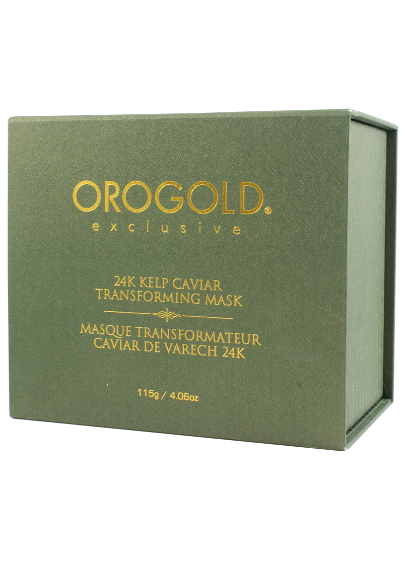 OROGOLD Exclusive 24K Caviar Transforming Mask in it's box