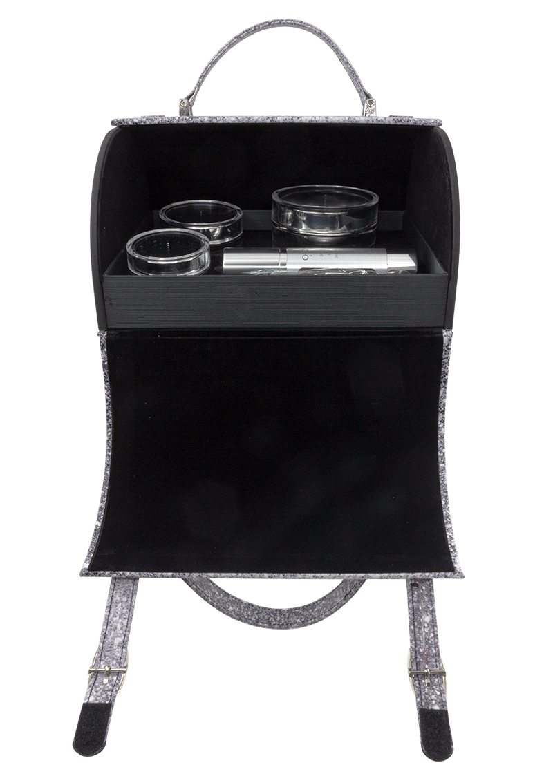 Cryogenic Limited Edition Mini Suitcase Open