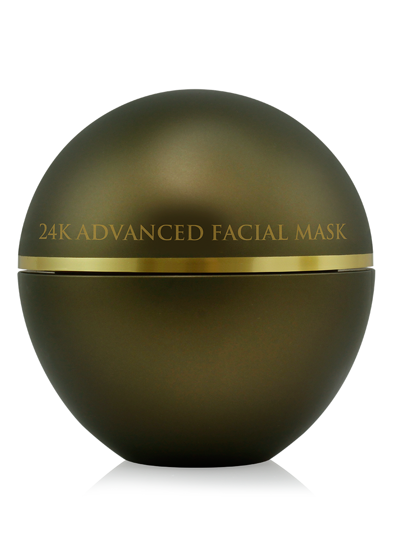 24K Advanced Facial Mask back