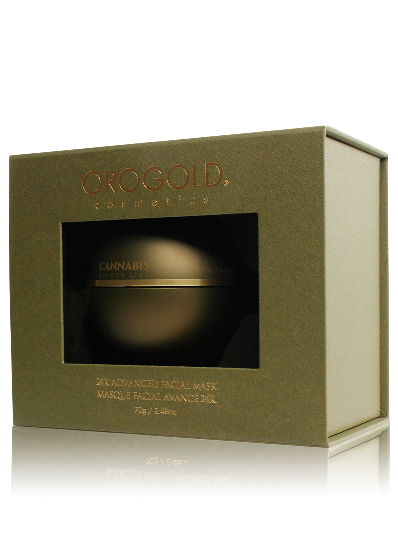 24K Advanced Facial Mask in its case