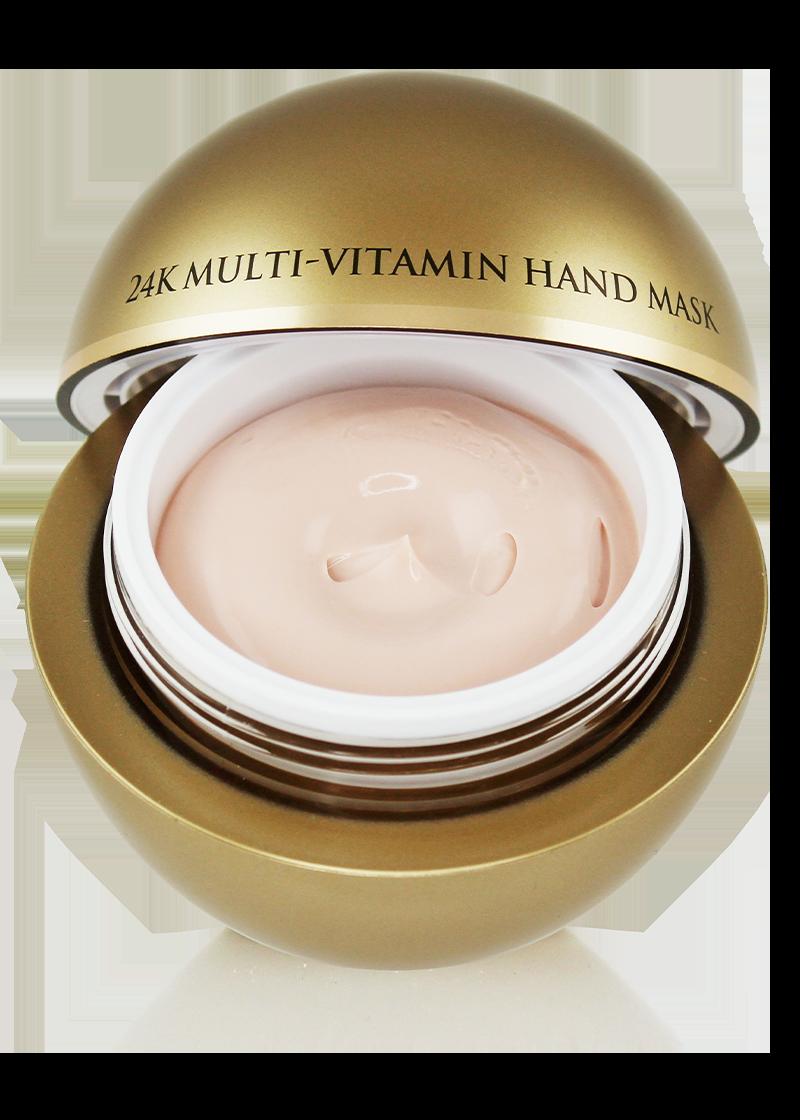 24K Multi-Vitamin Hand Mask open lid