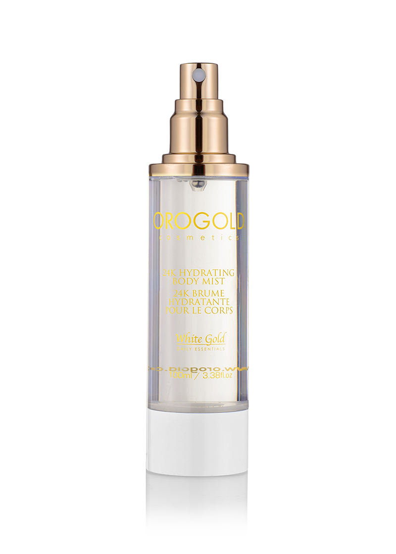 OROGOLD White Gold 24K Hydrating Body Mist without cap