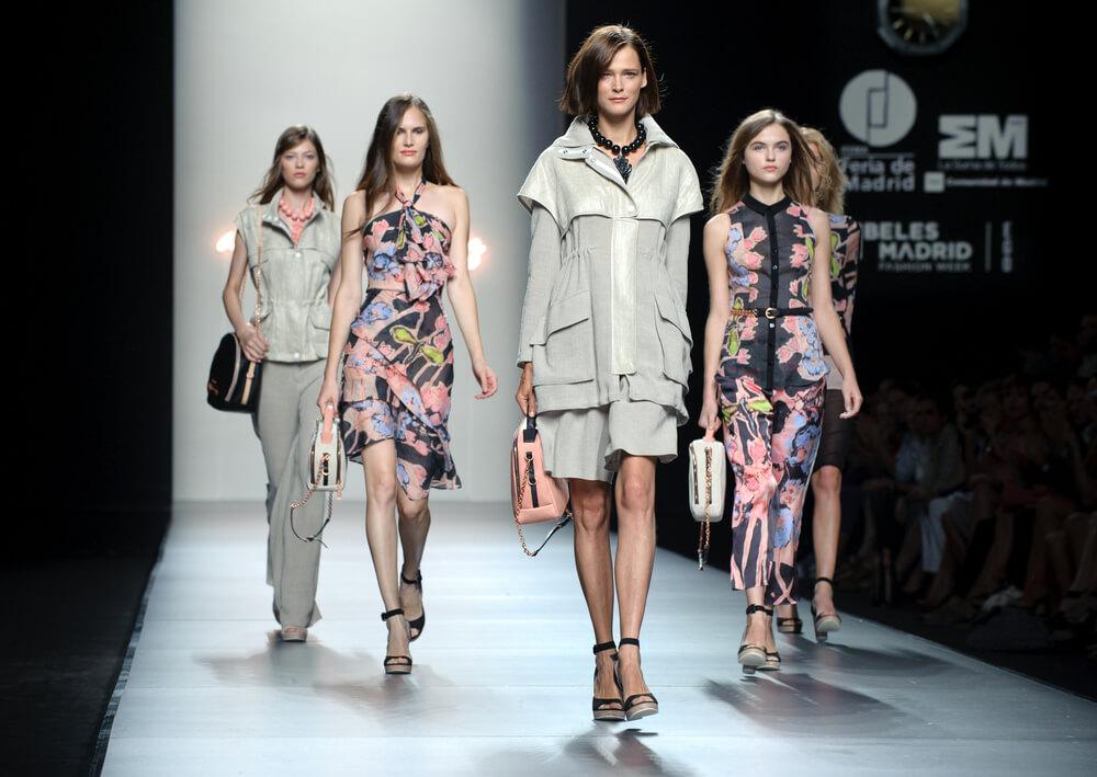 Madrid fashion models