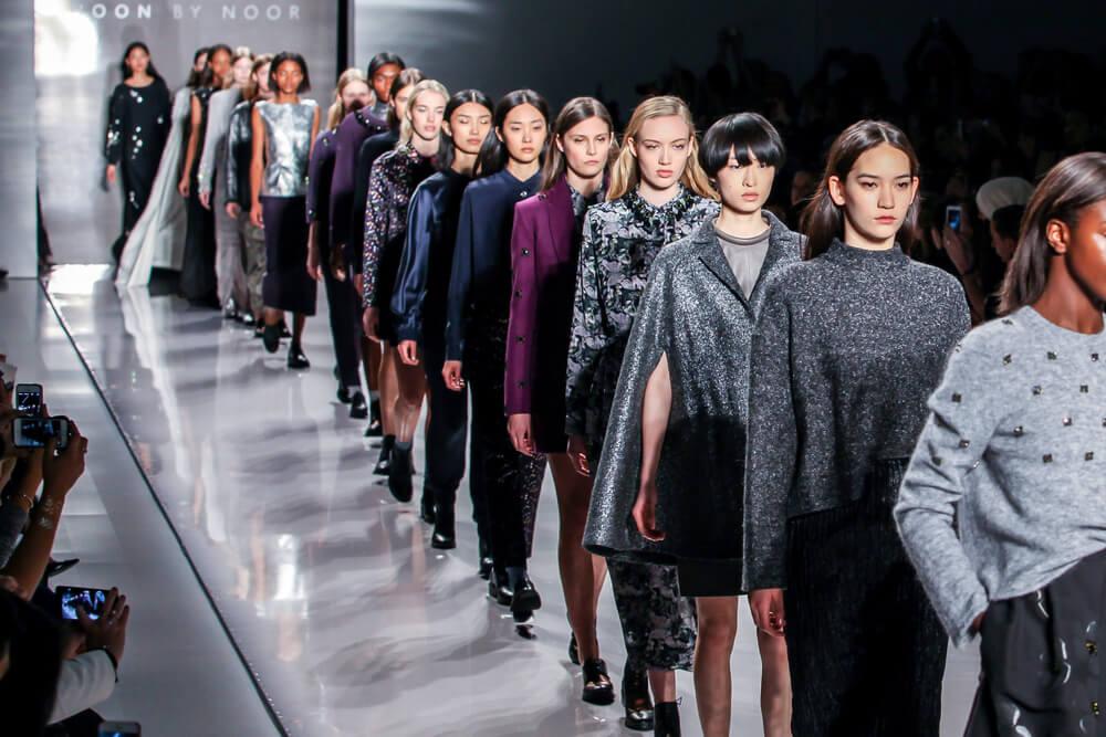 New York Fashion Week runway