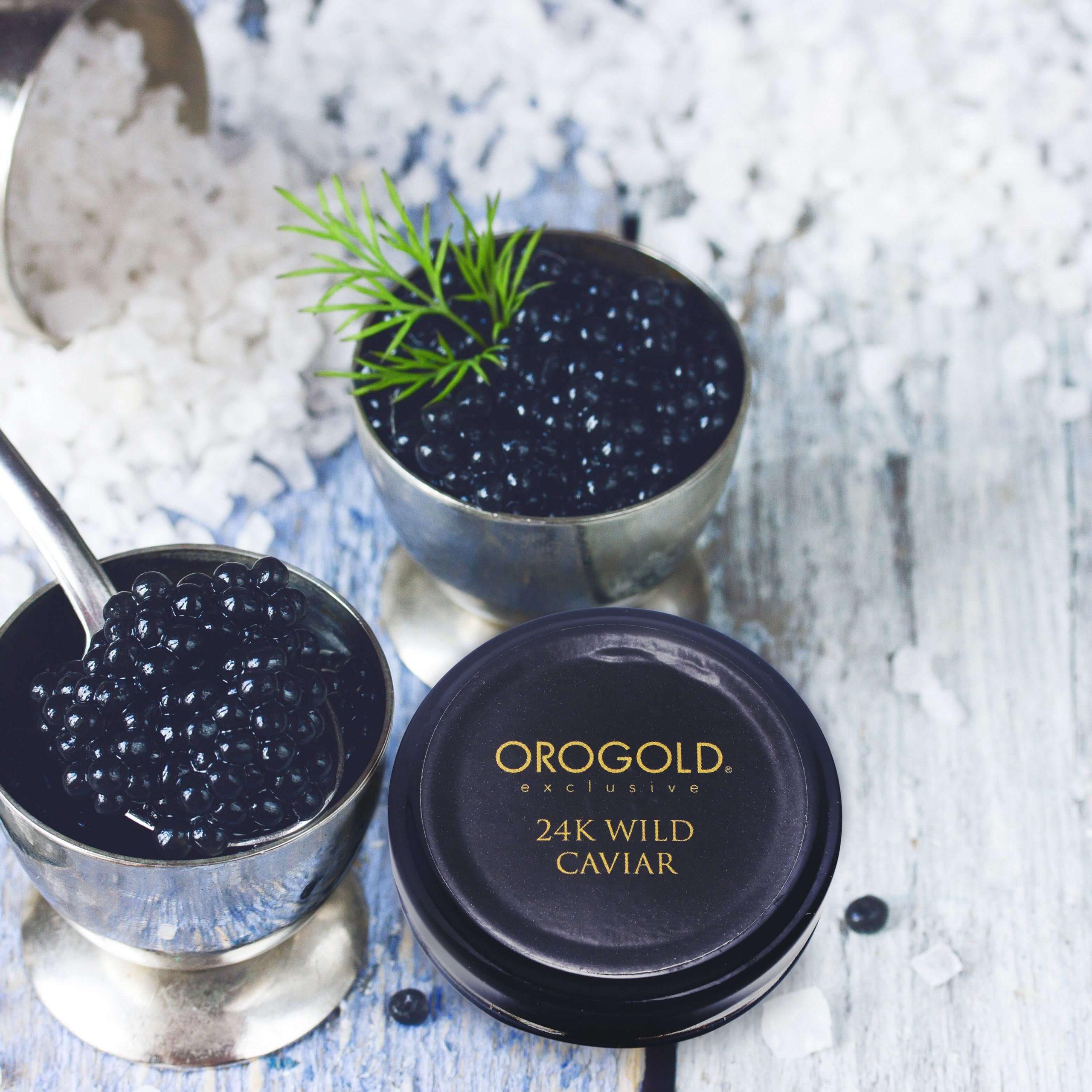 OROGOLD 24K Wild Caviar