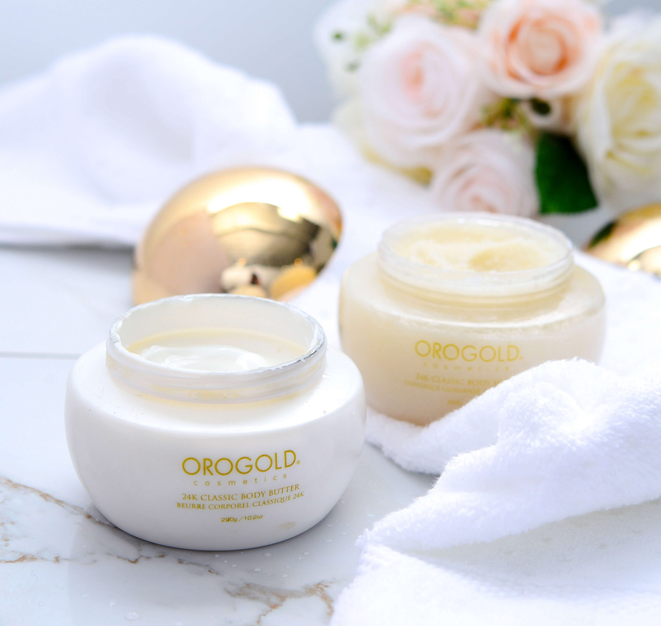 OROGOLD body butter