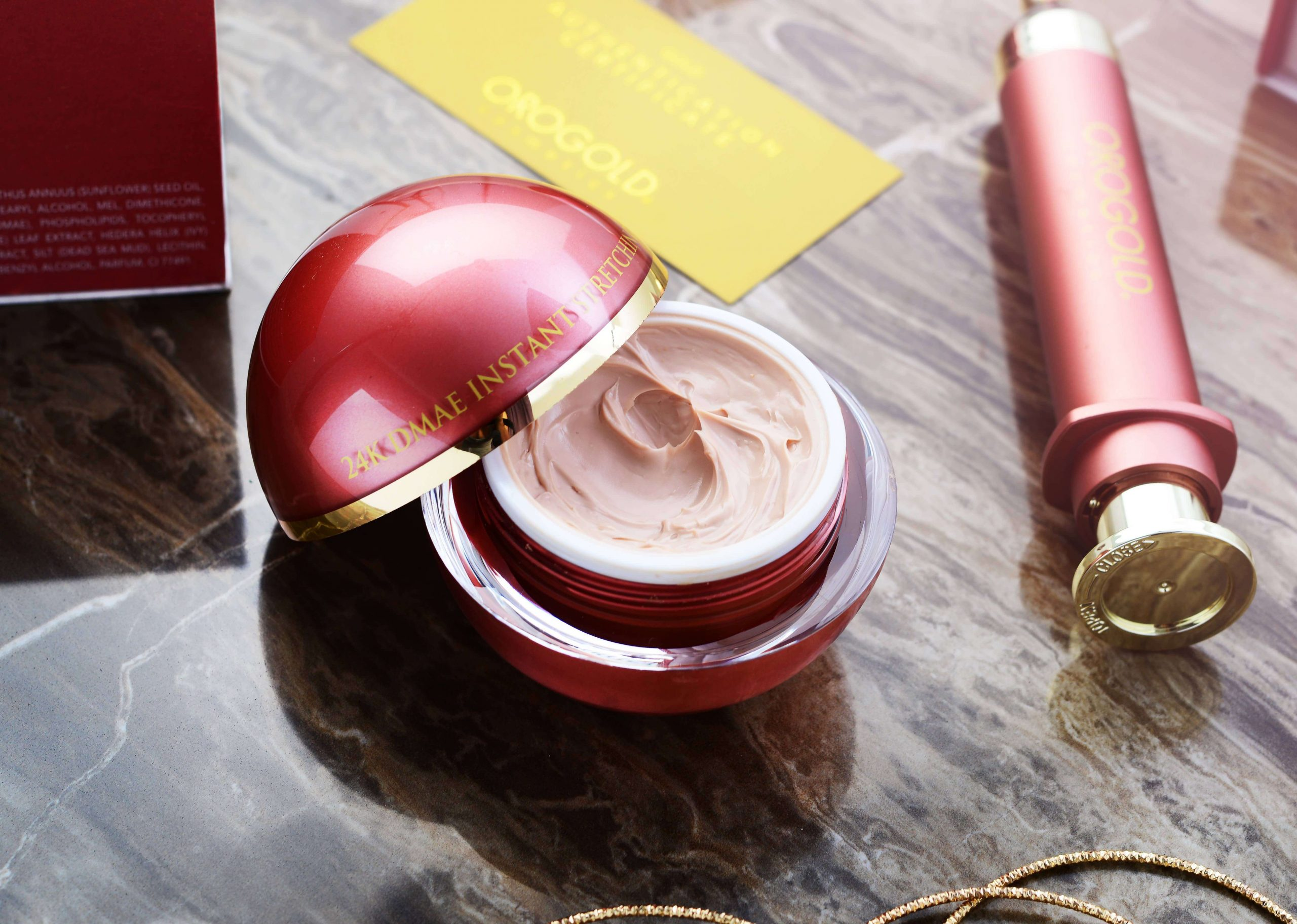 OROGOLD face mask from DMAE Collection