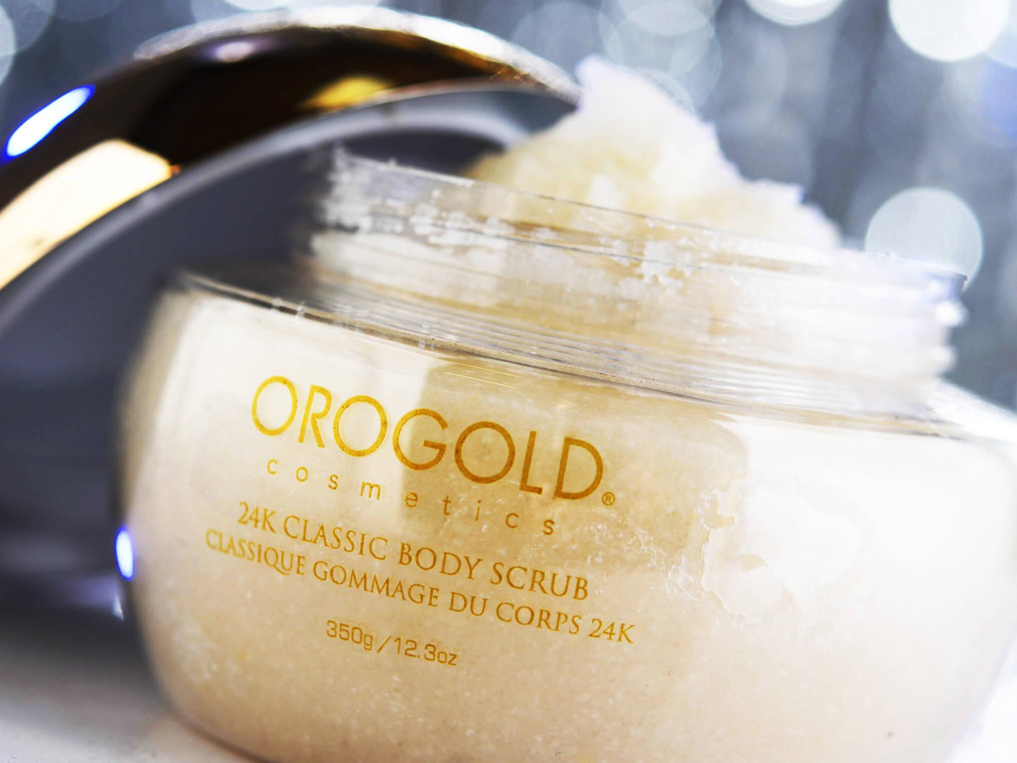 OROGOLD gold scrub for body